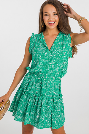 Collective Dress, Green
