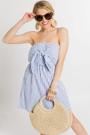 Seaside Strapless Dress