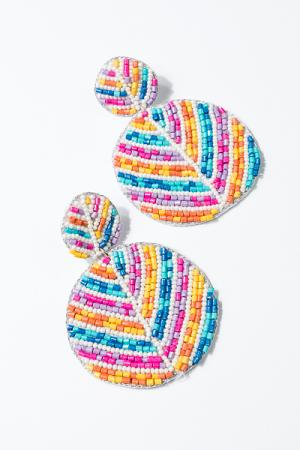Multi Color Easter Earrings