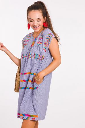 Stiche and Stripes Dress