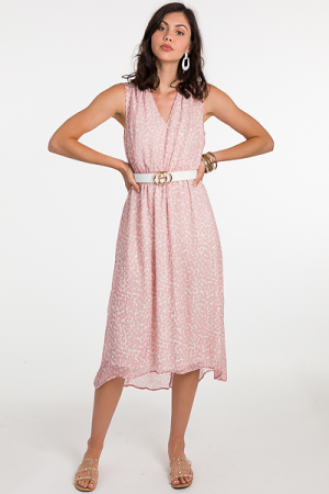 So Spotted Midi, Blush