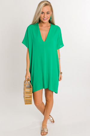 Classic Karlie Dress, Green
