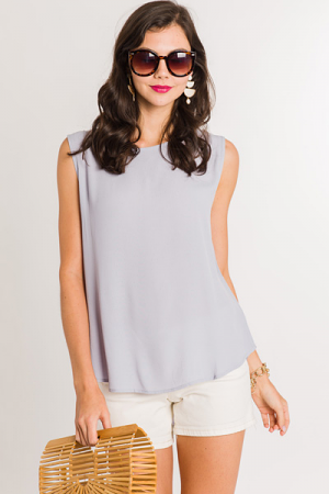 Stacy Tank, Grey