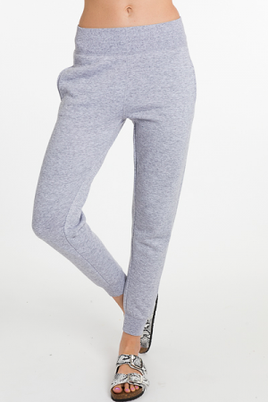 Sweatpant Joggers, Light Gray