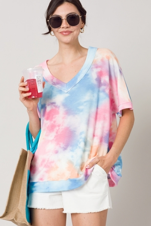 Thermal Tie Dye Tunic