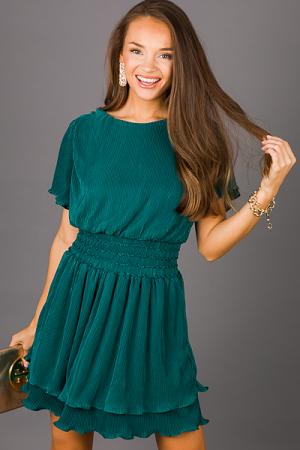 Pleats Please Dress, Green