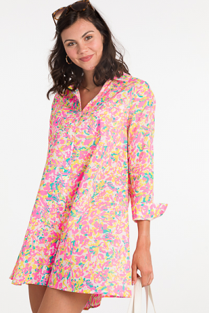 Collins Coverup, Neon Floral