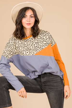 Wild Colorblock Tunic