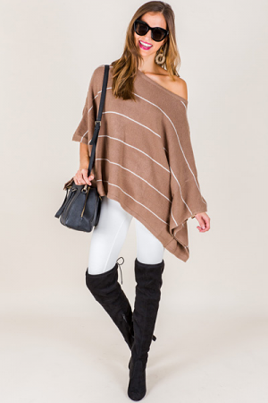 Dolly Dolman Pullover, Latte St