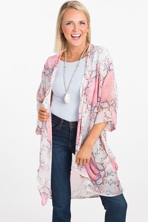 Dream in Pink Kimono