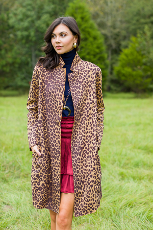 Leopard Long Coat