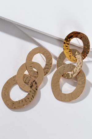 Hammered Links, Gold