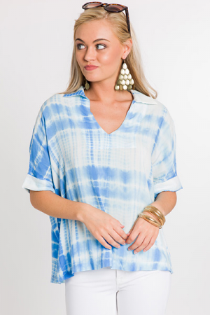 Ocean Blues Top