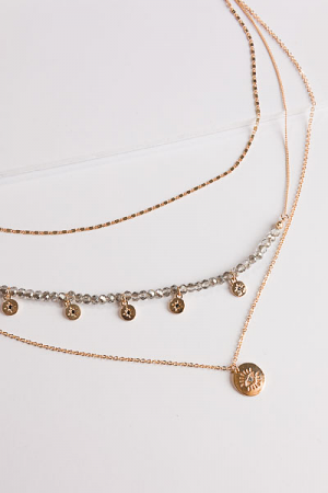 Moonshine Layer Necklace