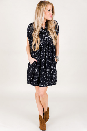Mixed Dots Frock
