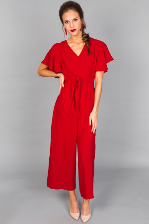 Catarina Jumpsuit, Red