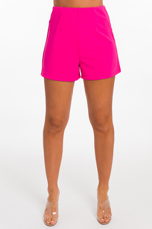Smooth Waist Shorts, Pink