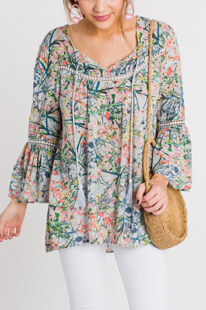 Spring Blooms Tunic