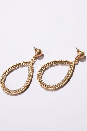She's Golden Earrings