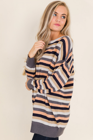Stripes Weather Sweater