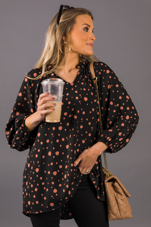 Perfect Style Blouse, Black