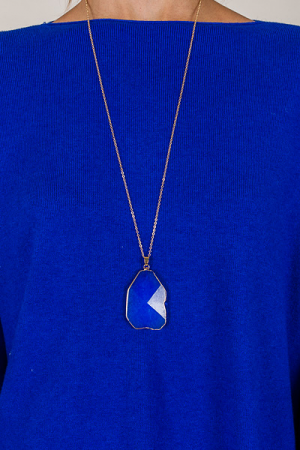 Cobalt Stone Neck