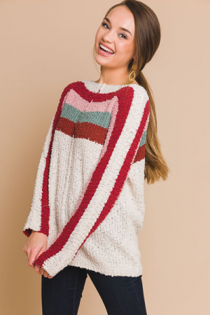 Sorbet Shoulders Sweater