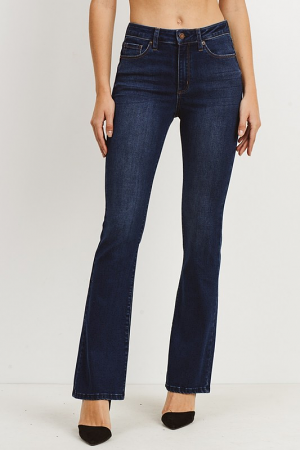 Classic Bootcut Jeans, Dark Wash