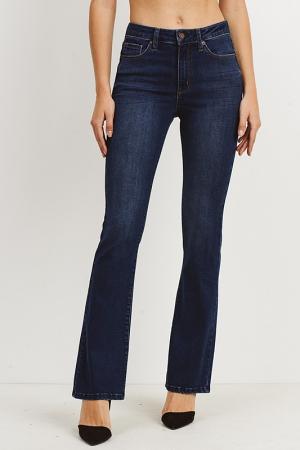 Classic Bootcut Jeans, Dark Wash