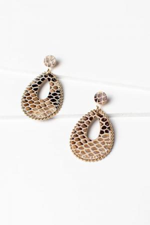 Snake Teardrops, Gold