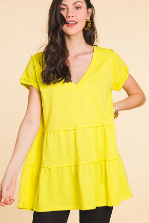 Best Tunic Tee, Lime