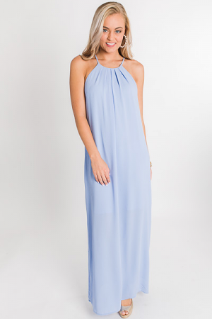 Vacation Ready Maxi, Sky Blue