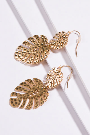The Palm Earring, Gold