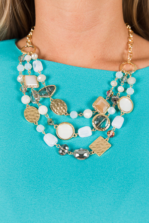 Krystal Layered Necklace