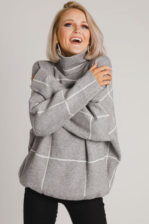 Off the Grid Sweater, Grey