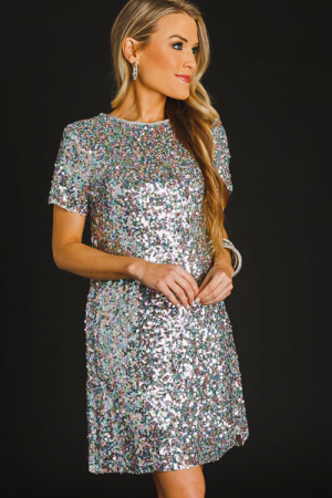 Unicorn Sequin Dress