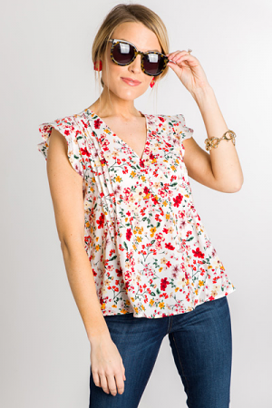 Field of Flowers Blouse