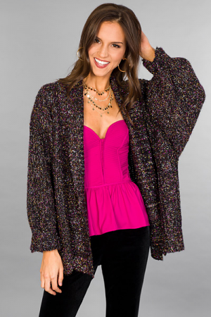 New Years Eve Cardi
