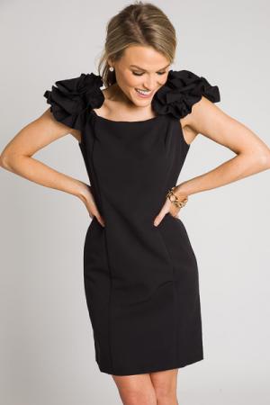 Feelin Fancy Dress, Black