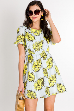 Palm Island Dress