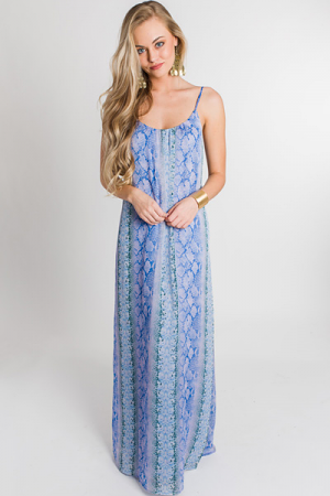 Mermaid Snake Maxi
