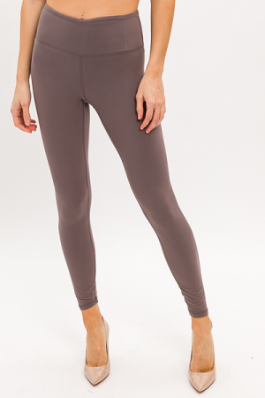 Butter Leggings, Smoky Grey