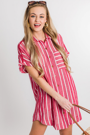 Cherry Stripes Tunic