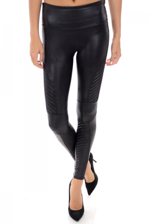 SPANX Leather Moto Legging
