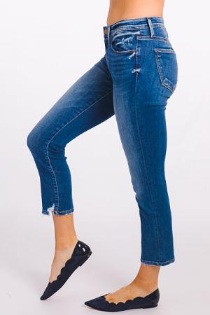 Mattie Mid Rise Straight Jean