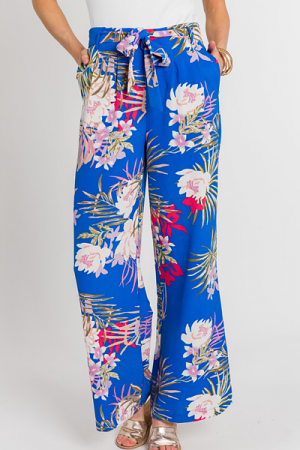 Blue Palms Pants