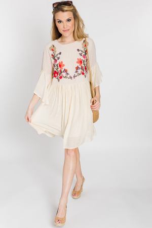 Whimsy Wonderland Dress, Natural