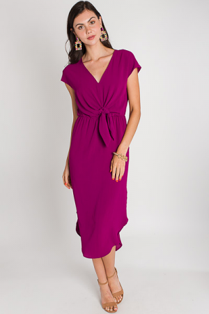 Knotted Midi, Berry