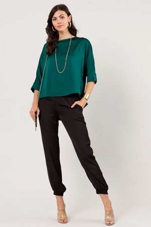 Day To Night Blouse, Sea Green