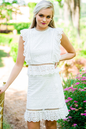 Stacy Eyelet Set
